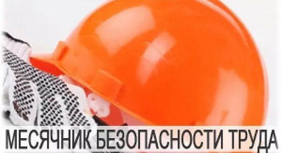 О проведении в 2019 году в Ставропольском крае месячника безопасности труда